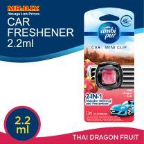 Ambi Pur Car Mini Clip Thai Dragon Fruit Car Air Freshener 2.2 ml