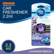 Ambi Pur Car Mini Clip Lavender Comfort Car Air Freshener 2.2 ml