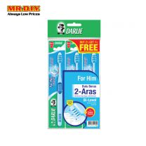DARLIE Buy 2 Free 1 Bi-Level Bristles for Him Toothbrush