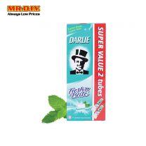 DARLIE Twin Pack Fresh 'N Brite Sweet Mint Fluoride Toothpaste (2 x 140g)