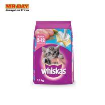 WHISKAS Dry Cat Food Junior Ocean Fish 1.1kg