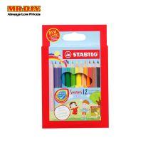 STABILO Swan Colour Pencil (12pcs)