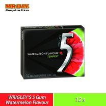 WRIGLEY'S 5 Tempest Watermelon Sugarfree Gum (12's)