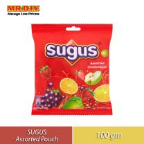 SUGUS Assorted Fruits Pouch (100g)
