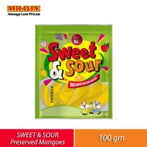 MIAOW Sweet and Sour Preserved Mangoes (100g)