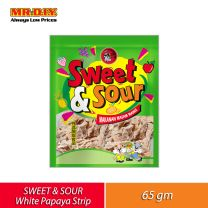 MIAOW Sweet and Sour White Papaya Strip (65g)