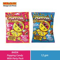 BAIDA Popping Candy With Party Pack (12g)