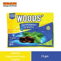 WOODS Peppermint Drops Original (15g)
