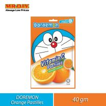 BIG FOOT Doraemon Vitamin C Pastilles Orange Flavour (40g)