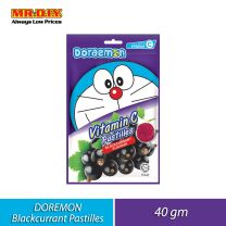 BIG FOOT Doraemon Vitamin C Pastilles Blackcurrant Flavour (40g)