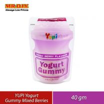 YUPI Yogurt Gummy Mix Berries (40g)