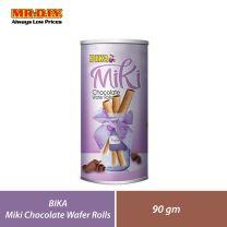 BIKA Miki Little Chocolate Wafer Rolls (90g)