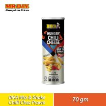 BIKA Mix N Shake Prawn Crackers Hungry Chilli Cheese (70g)