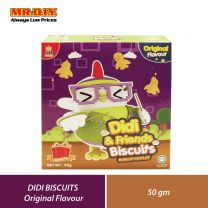 GH FOOD Didi and Friends Biscuits Original Flavour (50g)