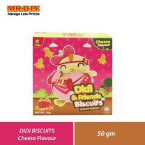 GH FOOD Didi and Friends Biscuits Cheese Flavour (50g)