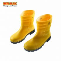 Yellow Safety Boots -Size 8