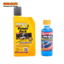 WAXCO Nano-Tech Rain Act (250ml) + FREE Windshield Cleaner (150ml)