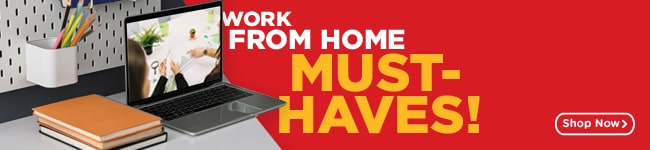 Work From Home Must Haves! - MR.DIY Online